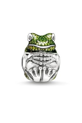 Comprar Rana verde Thomas Sabo Karma beads K0167-041-6 Online