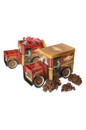 Coche vintage rocas chocolate