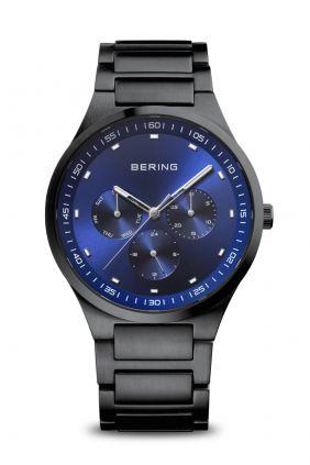 Reloj Bering Classic negro cepillado Hombre
