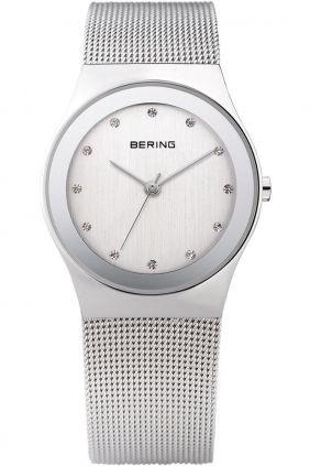 Reloj Bering clásico mujer Swarovski Elements plateado