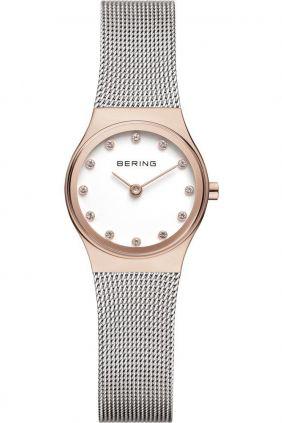 Reloj Bering clásico mujer malla y Swarovski Elements