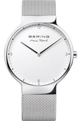 Bering Reloj unisex Max René plateado
