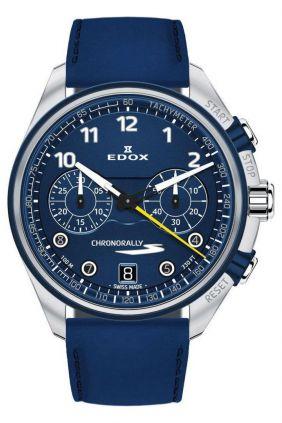 Comprar Reloj Edox Cronoraly azul Hombre 095033BUCBUBUB