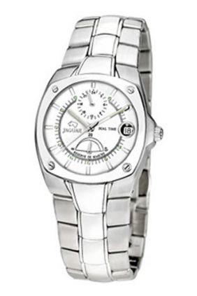 Reloj Jaguar Acero Automatico esfera blanca Unisex