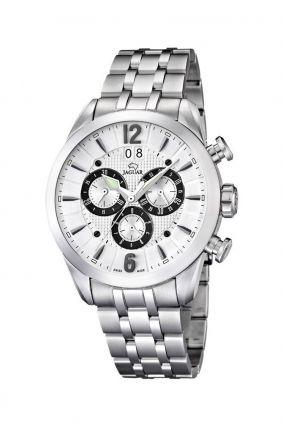 Reloj Jaguar Crono esfera blanca