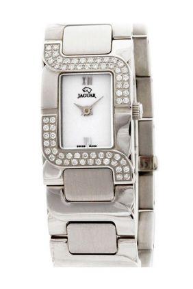 Reloj Jaguar Señora Acero y Brillantes