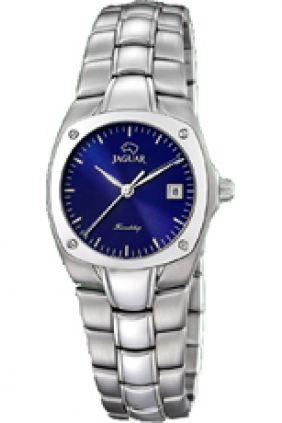 Reloj Jaguar acero señora esfera azul