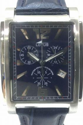 Reloj Lotus chrono caballero caja rectangular 15249