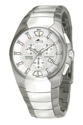 Reloj Lotus chrono titanio caballero