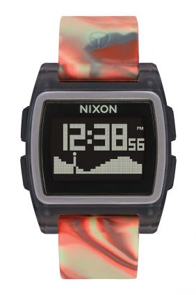 Reloj Nixon Base Tide  Orange Jellyfish
