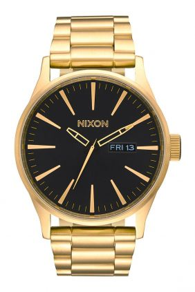 Reloj Nixon Sentry Acero  All Gold / Black