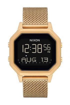 Reloj Nixon Siren Correa Milanese All Gold