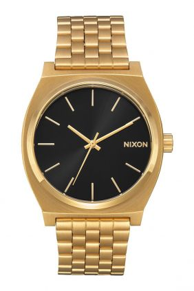 Reloj Nixon Time Teller  All Gold / Black sunray
