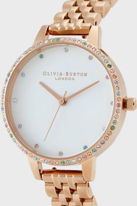 Reloj Olivia Burton dorado OB16RB21 Rainbow