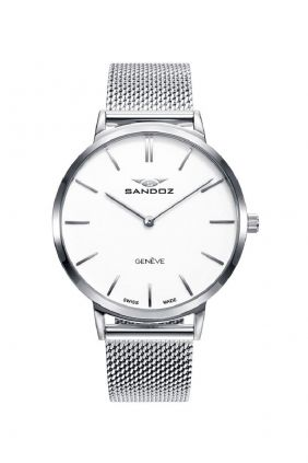 Comprar online Reloj Sandoz 81350-07 reloj suizo para mujer Classic-slim