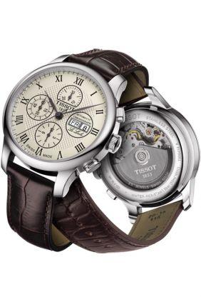 Reloj Tissot Le Locle Valjoux Chronograph T006.414.16.263.00 hombre