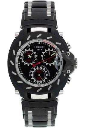 Reloj Tissot T-race ChronoGraph Pavonado Negro