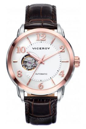 Reloj Viceroy caballero automático clásico, semiesqueleto