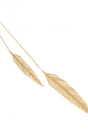 Salvatore plata colgante plumas