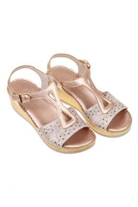 Sandalia piel confort Flexpies