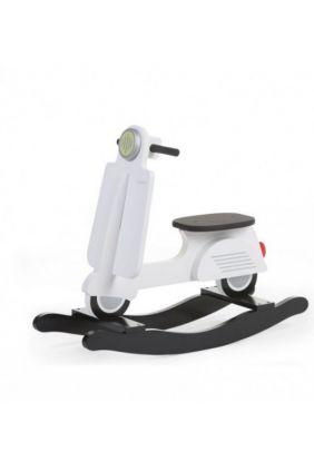 Scooter Balancín de Childhome blanca