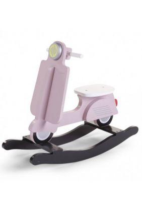 Scooter Balancín de Childhome rosa