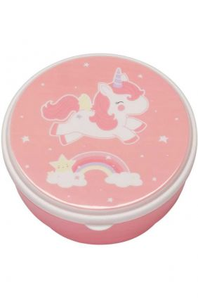 Set 4 tuppers unicornio