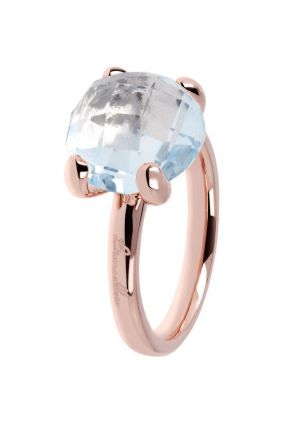 Comprar Anillo Blue Topaz Cocktail Ring de Bronzallure Online