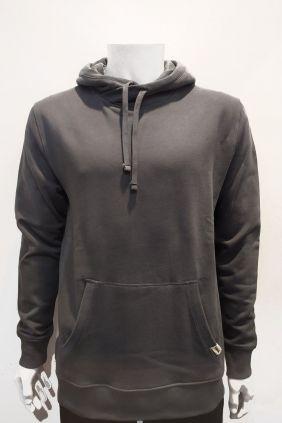 Comprar online Sudadera canguro gris Nomak para hombre