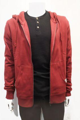 Comprar online Sudadera roja capucha Nomak para hombre