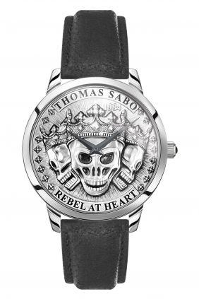Thomas Sabo Reloj Rebel Spirit Calaveras 3D