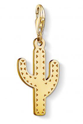 Thomas Sabo colgante charm cactus oro