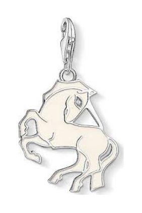 Thomas Sabo colgante charm unicornio blanco