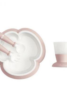 Vajilla bebé BABYBJÖRN rosa