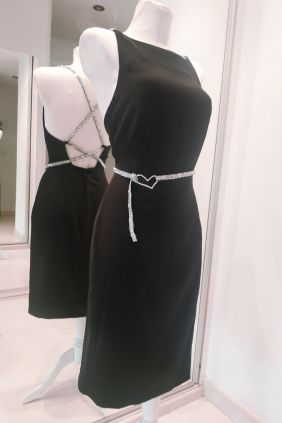 Vestido Anna Milittia Cruz plata