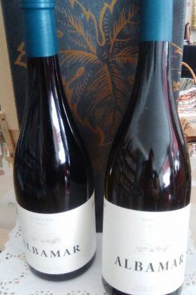 Comprar online Vino Albariño Albamar estuche decorado