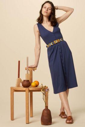 Comprar Vestido Sessùn Keel Blue sin mangas