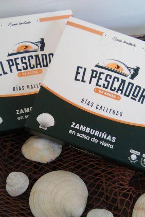 Comprar online Zamburiñas en salsa de vieira El Pescador