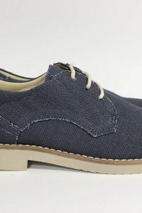 Zapato cordón lino Yowas