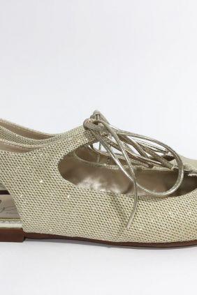 Zapato destalonado dorado Eli