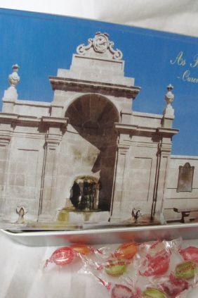 Regalos de Ourense - Lata con caramelos As Burgas