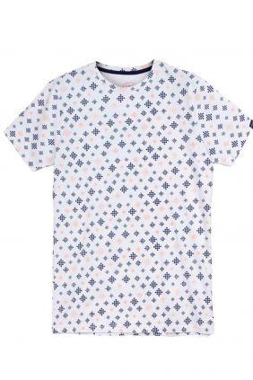 Comprar online Camiseta estampado geométrico Dark & Fish