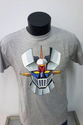 Camiseta hombre gris