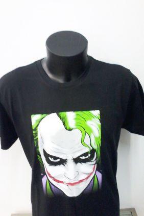 Camiseta manga corta negra Joker