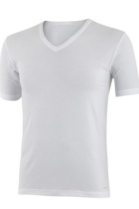Comprar camiseta interior Impetus manga corta blanca cuello pico