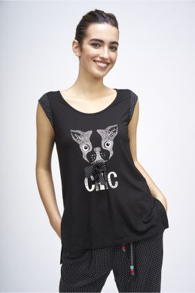 Camiseta Poupée Chic