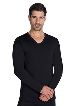 Camiseta Térmica Ysabel Mora en pico negra