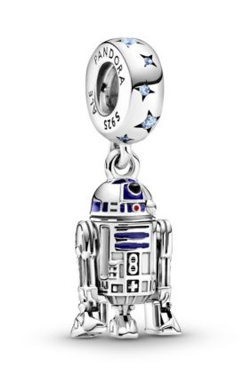 Charm colgante en plata de ley R2-D2™ Star Wars™