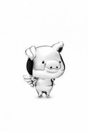 Pandora Charm plata Pippo el Cerdo Volador