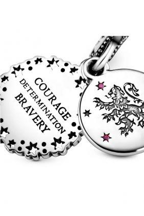 Pandora Charm plata Gryffindor